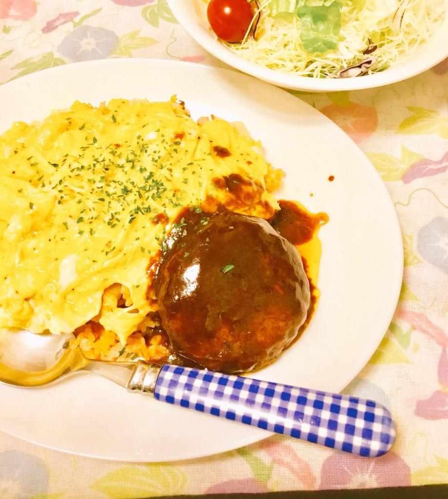 りんご甕酢【ハンバーグ】