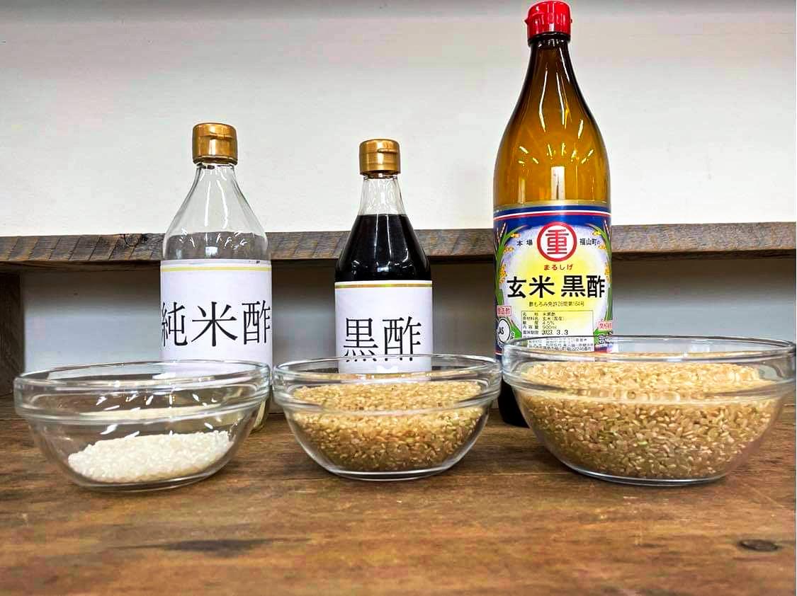 20210422タカコナカムラ先生鹿児島黒酢講習一般的なお酢、米酢、鹿児島黒酢の違いと料理方法について、発酵食品である鹿児島黒酢の使い方