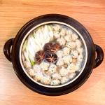 旨だし酢極(かつお節発酵酢)レシピ『夏こそさっぱり鶏団子鍋』